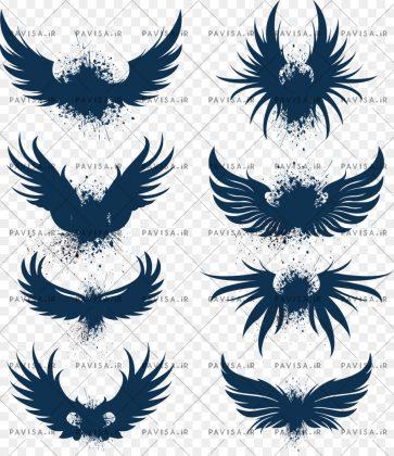 لوگو بال پرنده ها
