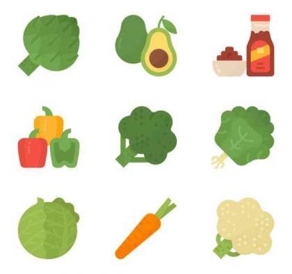آیکن سبزیجات