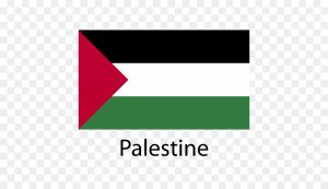 فایل png پرچم فلسطین