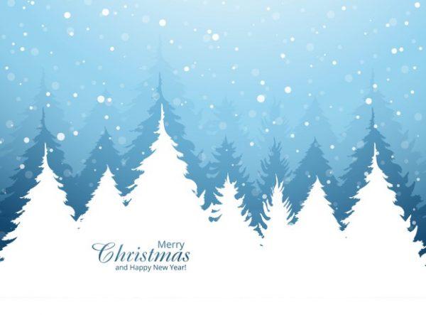 فایل آماده دانلود وکتور کارت ویزیت زیبا برای جشن کریسمس