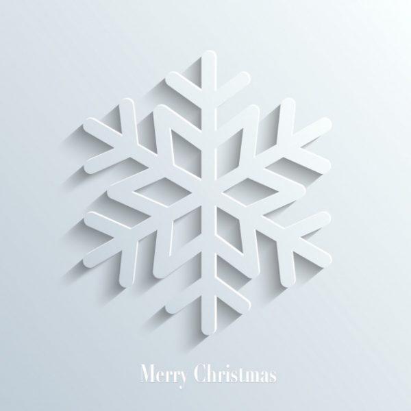 وکتور آماده دانلود پس زمینه کریسمس بلور برف بزرگنمایی شده