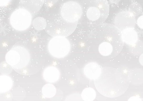 فایل آماده دانلود وکتور پس زمینه کریسمس با طرح دانه های برف درخشش نقره ای