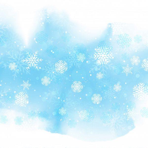 فایل psd وکتور بلورهای برف در حال بارش کریسمس