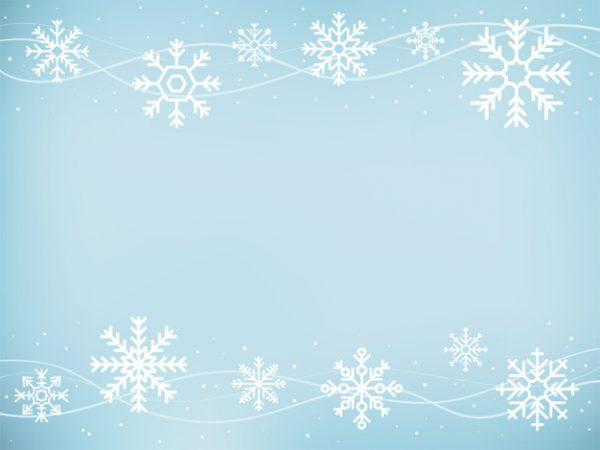 وکتور آماده دانلود نمادهای زیبا برف ریزه برف