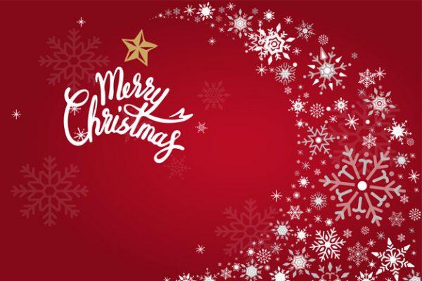 فایل آماده دانلود وکتور پس زمینه طراحی تعطیلات کریسمس مبارک
