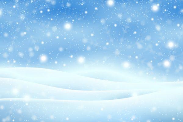 فایل آماده دانلود وکتور پس زمینه واقعی بارش برف