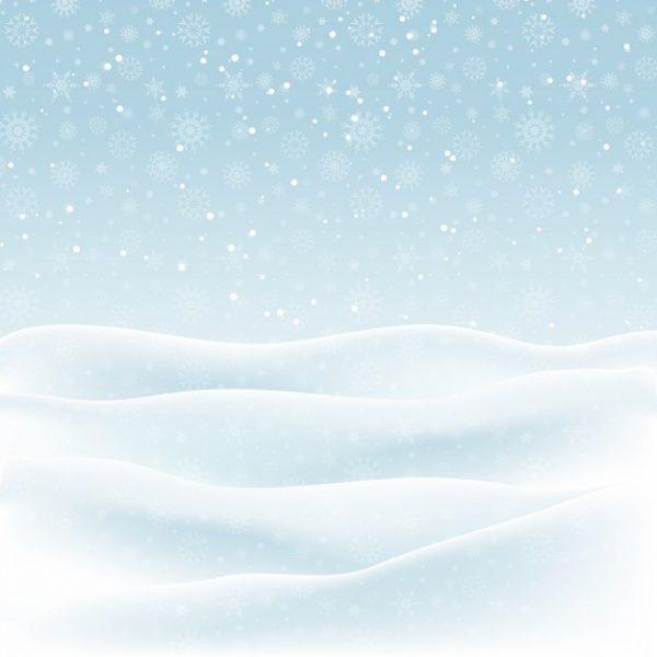 وکتور لایه باز طرح پس زمینه زمستان برف
