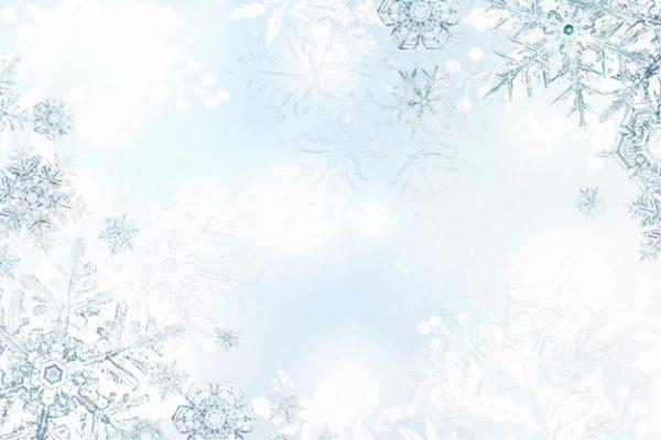 فایل psd وکتور بلورهای برف یخ زده