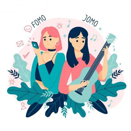 وکتور تفاوت تفریحات دختران