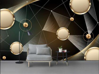 دانلود کاغذ دیواری بافت لوکس فلزی زمینه طلا