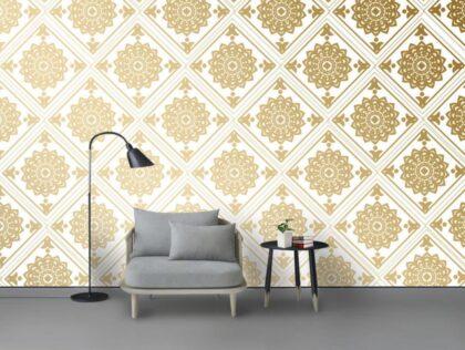 دانلود کاغذ دیواری طرح زمینه طلایی